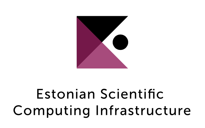 Estonian Scientific Computing Infrastructure logo